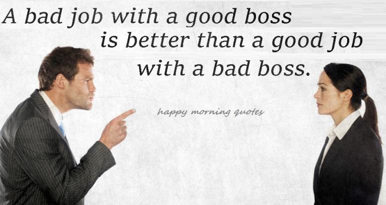 A Bad Job