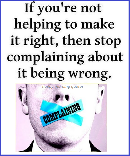 dont-be-a-complainer