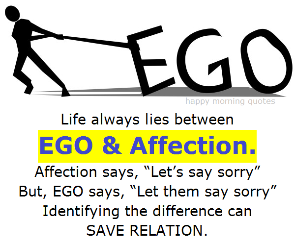 Ego and affection